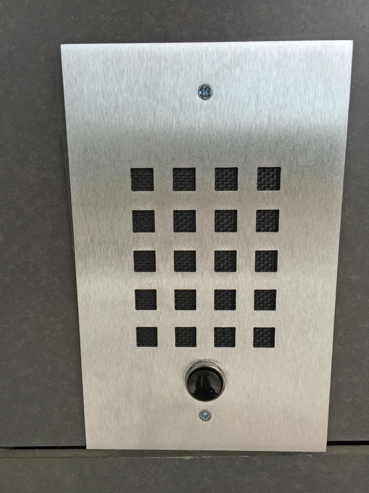 Doorbell Sound for Modern Entry with Intercom