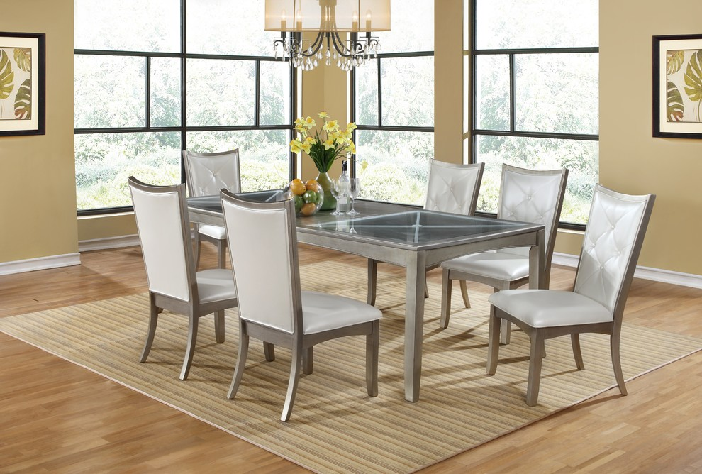 Dorado Furniture for Transitional Spaces with Dining Sets