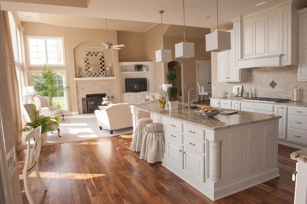 Drexel Building Supply for Transitional Kitchen with Cabinet Doors