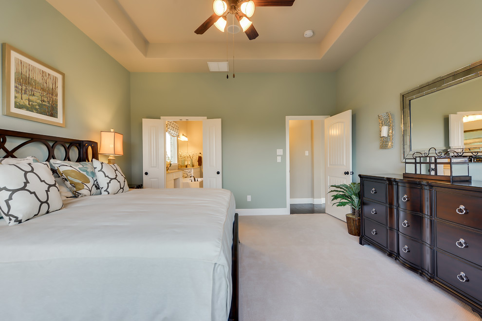 Dunhill Homes for Contemporary Bedroom with Frisco Hills