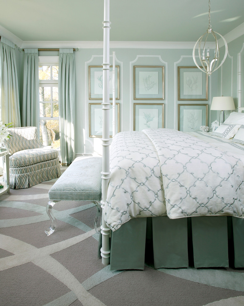 Duvet Cover Definition for Traditional Bedroom with Upholstered Bench