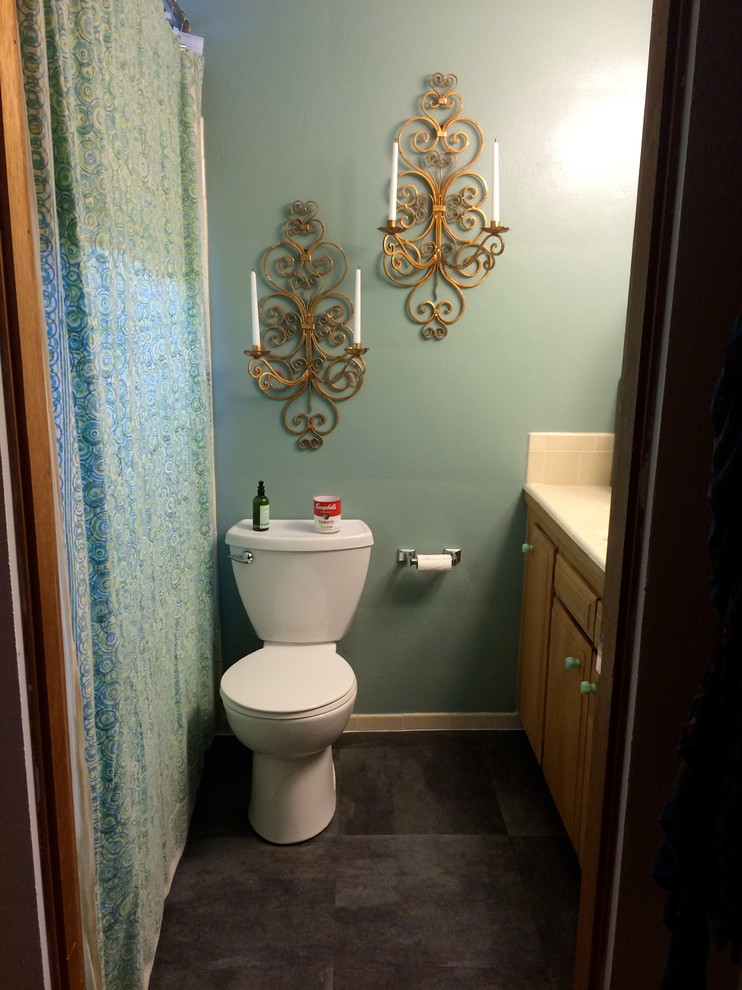 Earthwise Seattle for Midcentury Bathroom with Vinyl Flooring