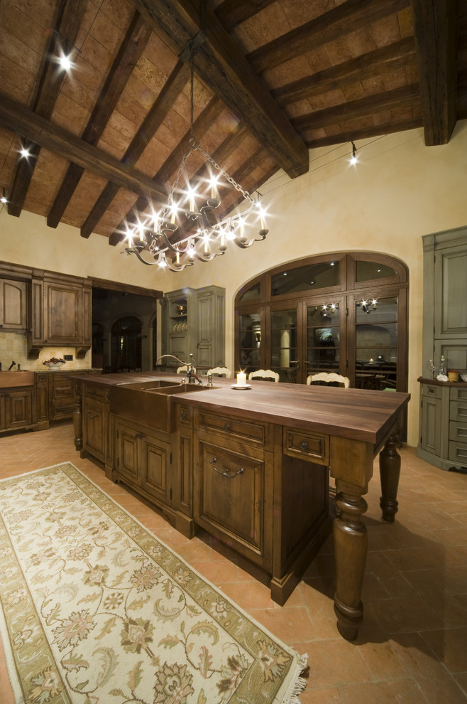 efaucets.com for Rustic Kitchen with Rustic
