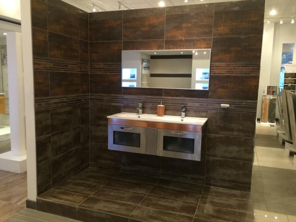 Eleganza Tile for Modern Bathroom with Kitchen Backsplash