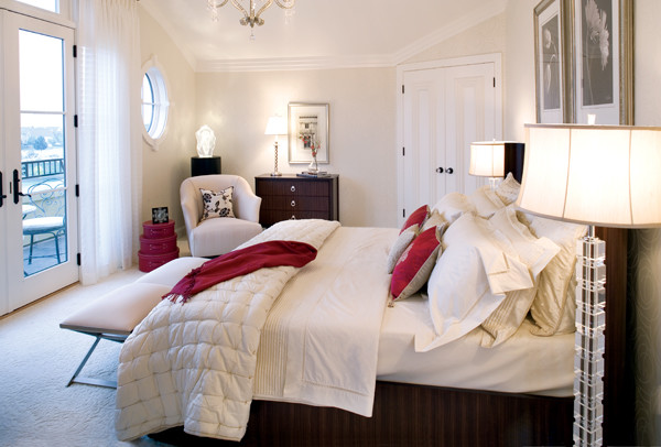 Estridge Homes for Contemporary Bedroom with Contemporary