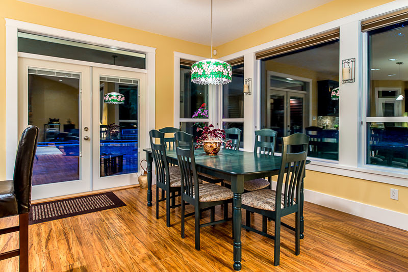 Excalibur Homes for Contemporary Dining Room with Entryways