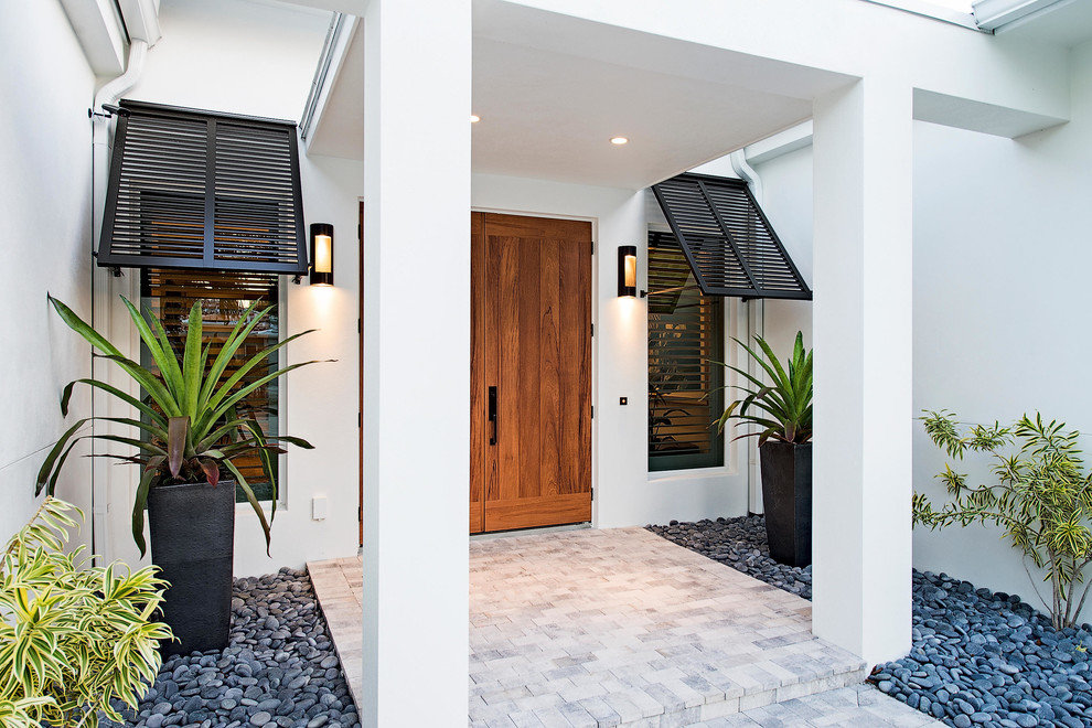 Factory Direct Okc for Tropical Entry with Beach House