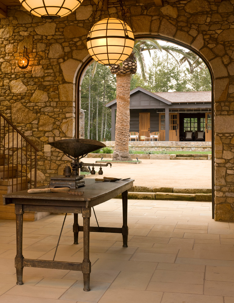 Farmstead St Helena for Mediterranean Entry with Archway