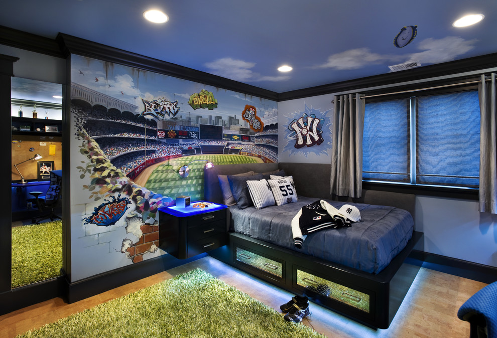 Ferris State University Football for Contemporary Kids with Wall Mural