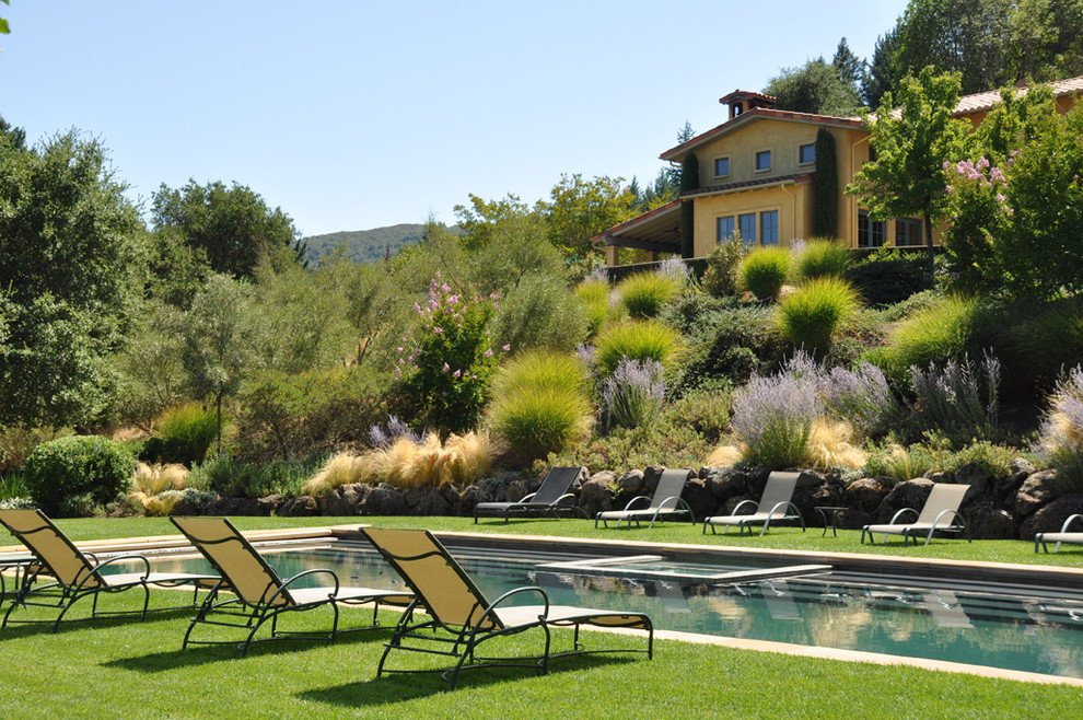 Fox Hills Golf Course for Mediterranean Landscape with Slope