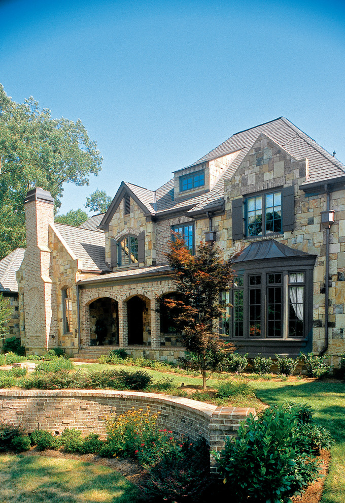 Frank Betz House Plans for Traditional Exterior with Lawn