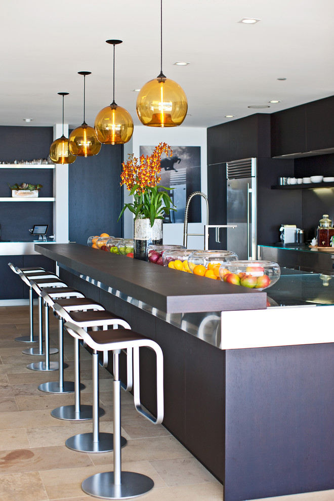Fruit Flies in Kitchen for Contemporary Kitchen with Stainless Steel Appliances