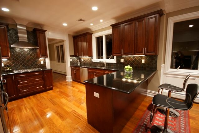 Fuda Tile for Traditional Kitchen with Fuda Tile Marble