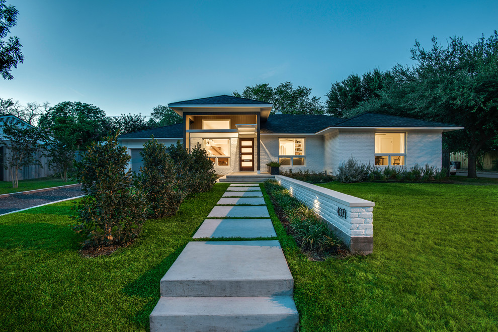 Gabled Roof for Contemporary Exterior with Contemporary Home