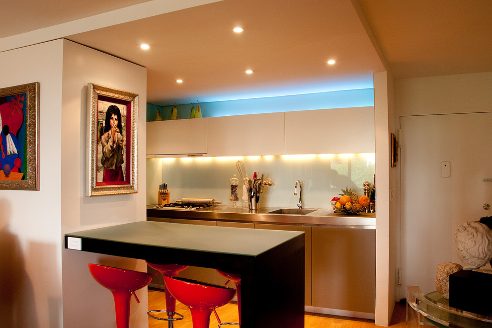 Galley Kitchens for Contemporary Kitchen with Dallas