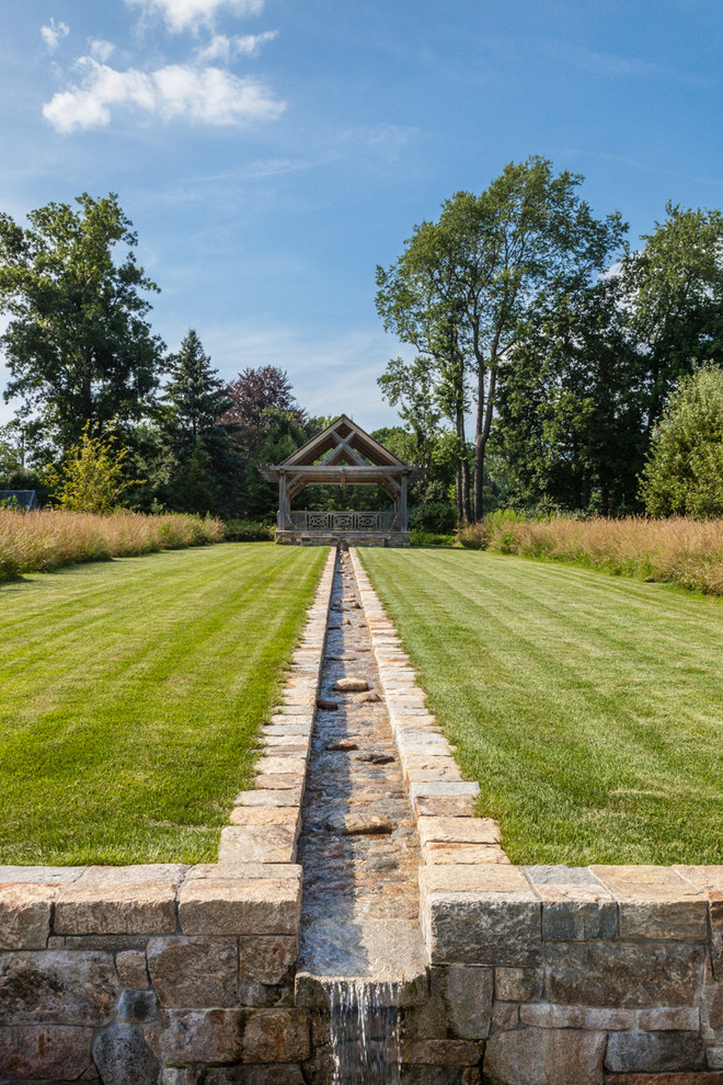 Goldfish Properties for Farmhouse Landscape with Orchard