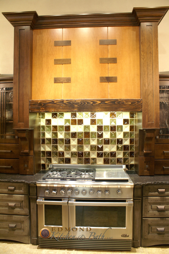 Hahn Appliance for Traditional Kitchen with Chiseled Edge Quartz