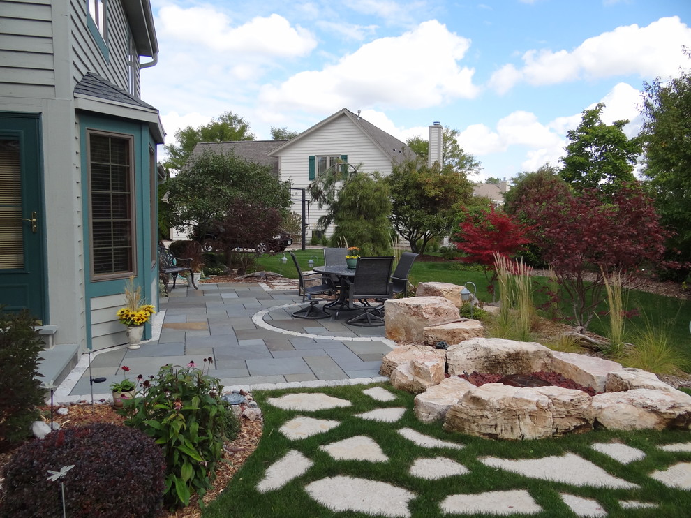 Halquist Stone for Contemporary Patio with Stone Pavers