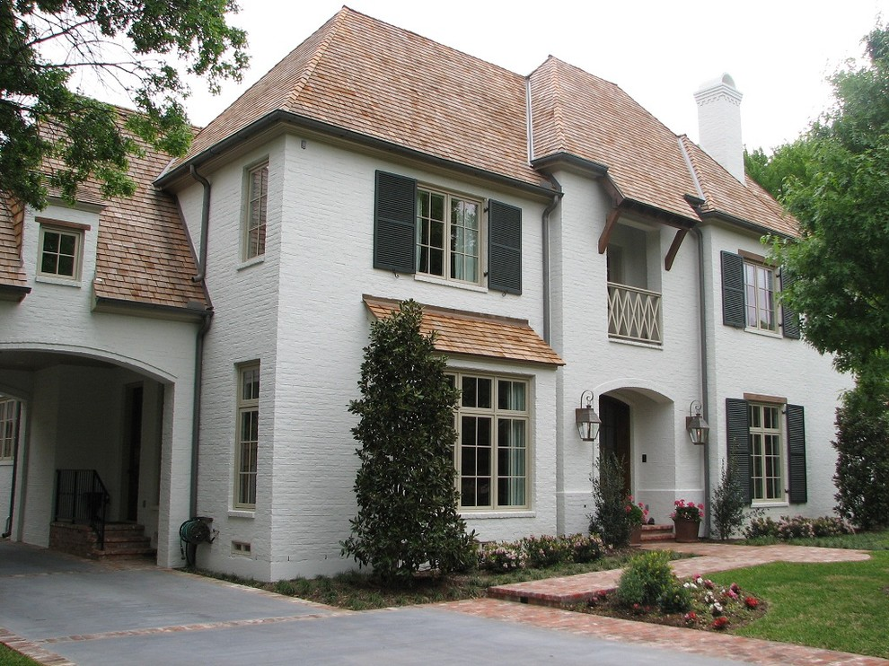Helm Paint for Traditional Exterior with a Hays Town