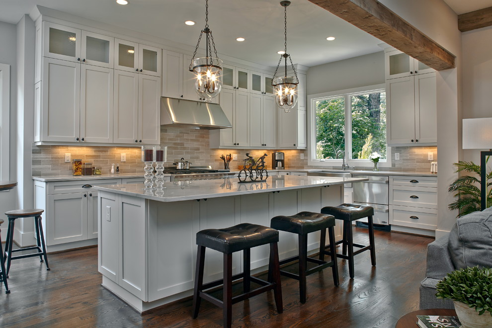 Hortons Lighting for Traditional Kitchen with Soft Close Drawer