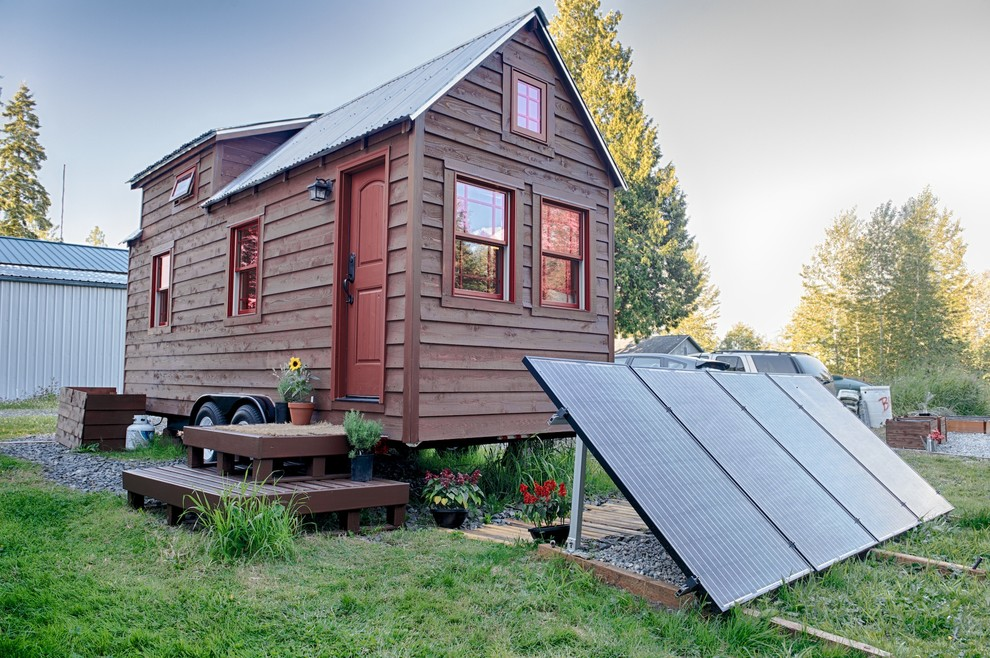 How to Get Rid of Mosquitoes in Your House for Rustic Exterior with Solar Panels