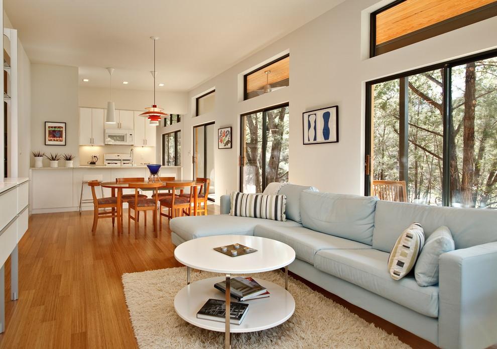 Ikea Karlstad for Modern Living Room with Modern