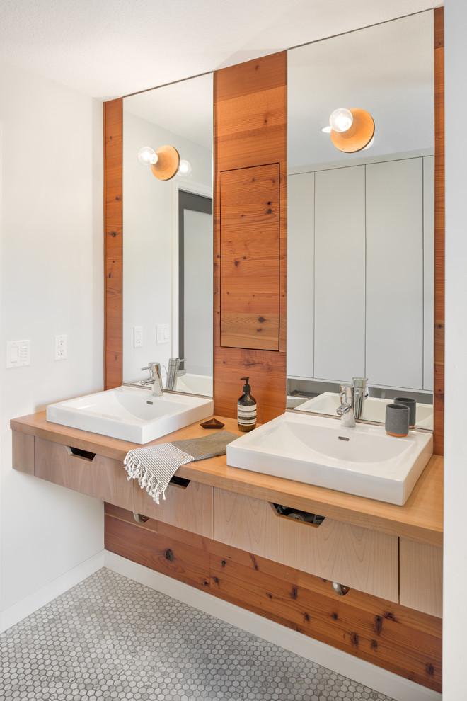 Ikea Portland Oregon for Scandinavian Bathroom with Custom Made