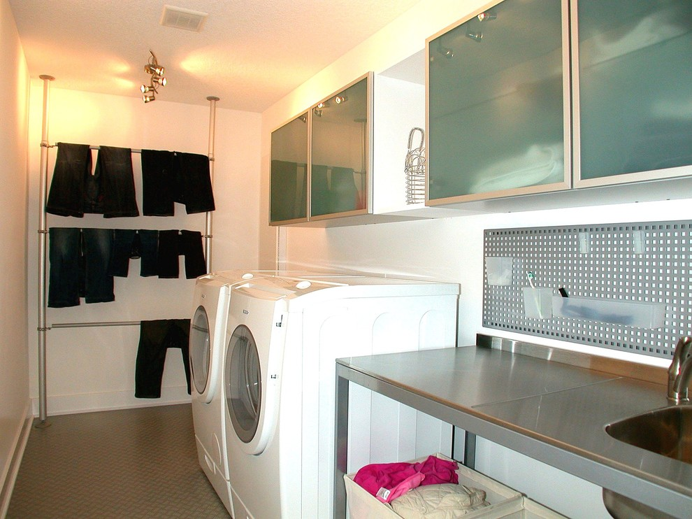 Ikea Stolmen for Contemporary Laundry Room with Contemporary