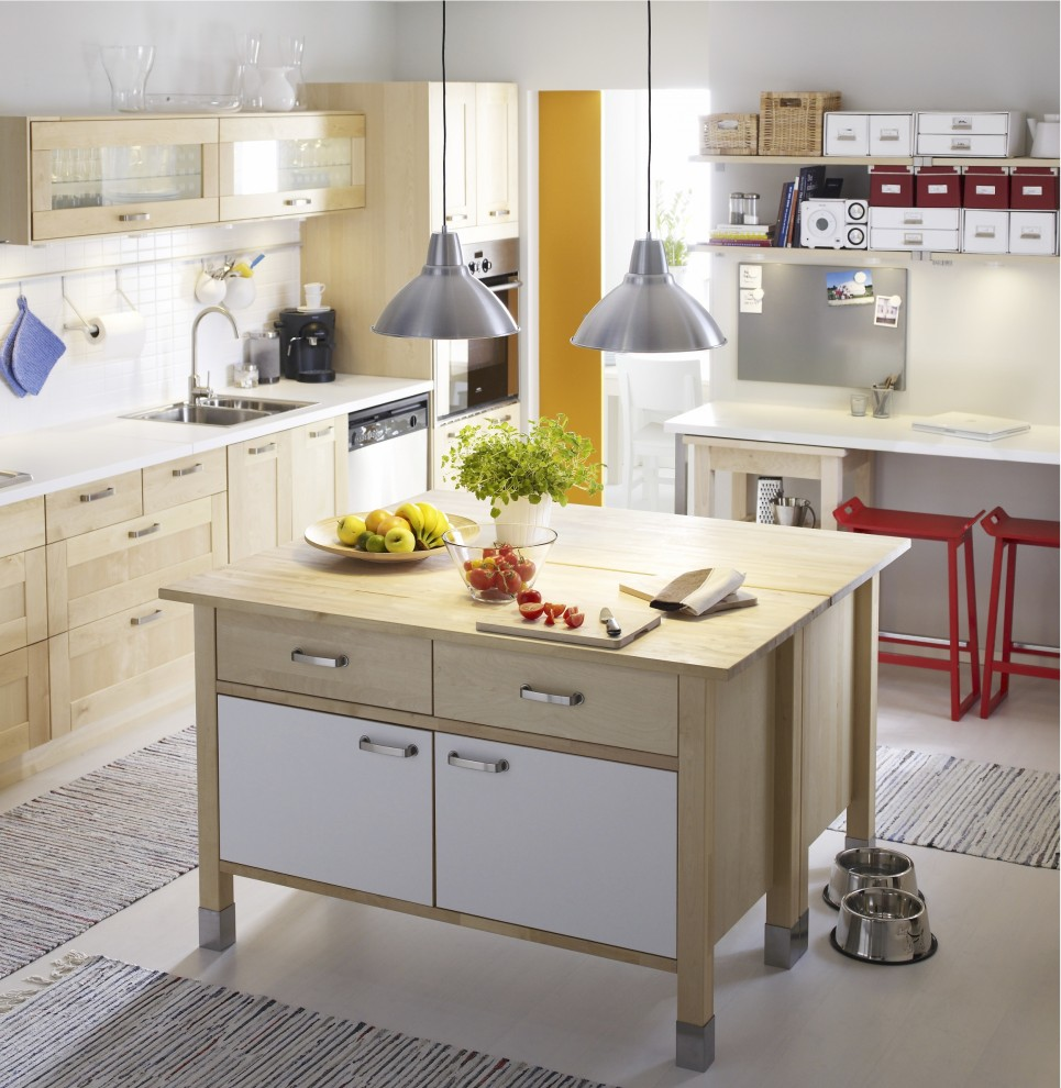 Ikea Varde for Contemporary Kitchen with Contemporary