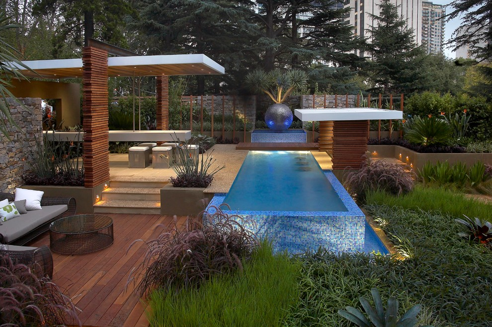 Infiniti of Melbourne for Contemporary Landscape with Water Feature