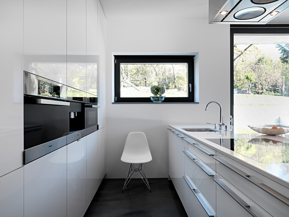 Ippolitos for Contemporary Kitchen with Kitchen Island with Sink