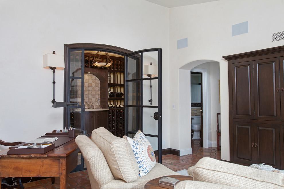 Jadon for Mediterranean Spaces with Wine Cellar