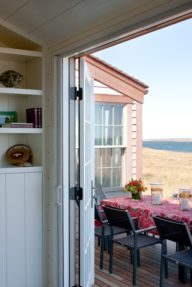 Jen Weld Doors for Beach Style Deck with Coastal Home