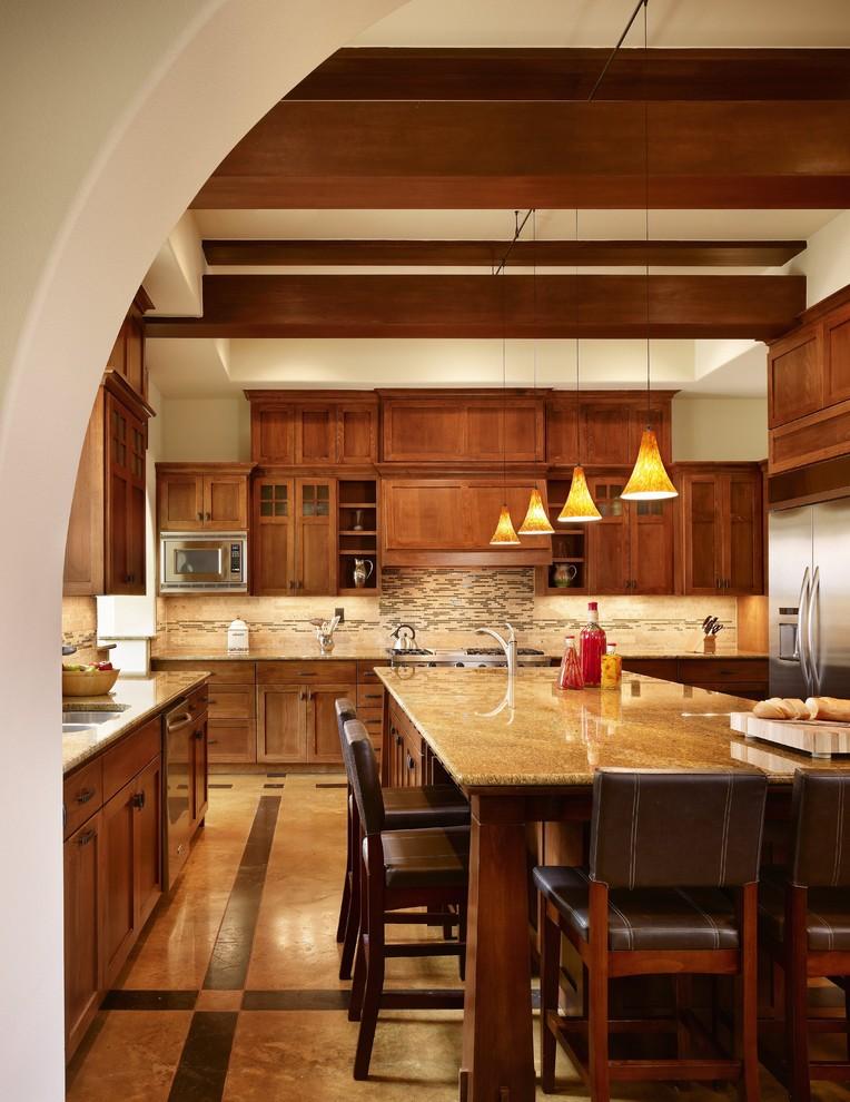 Jk Cabinets for Craftsman Kitchen with Pendant Lighting