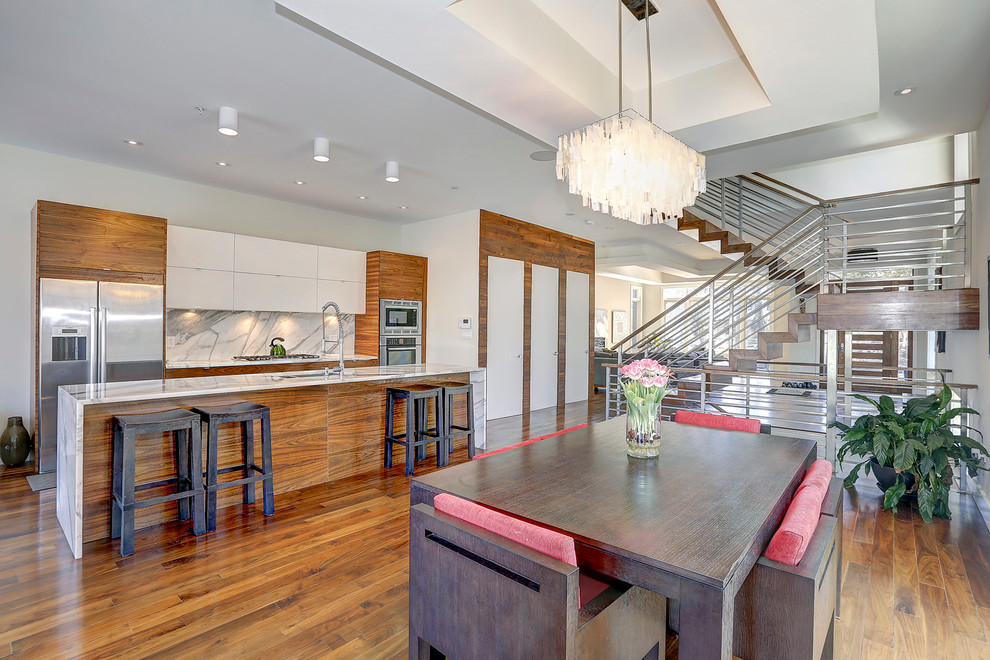 Keller Williams Chattanooga for Contemporary Dining Room with Staircase