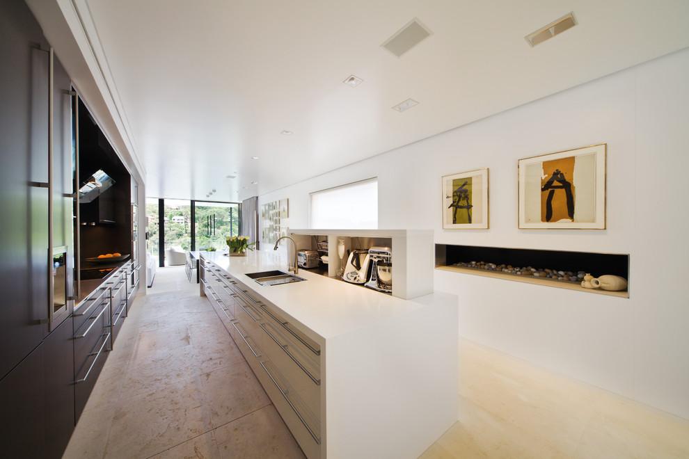 Kettle Moraine Appliance for Modern Kitchen with Appliance Storage
