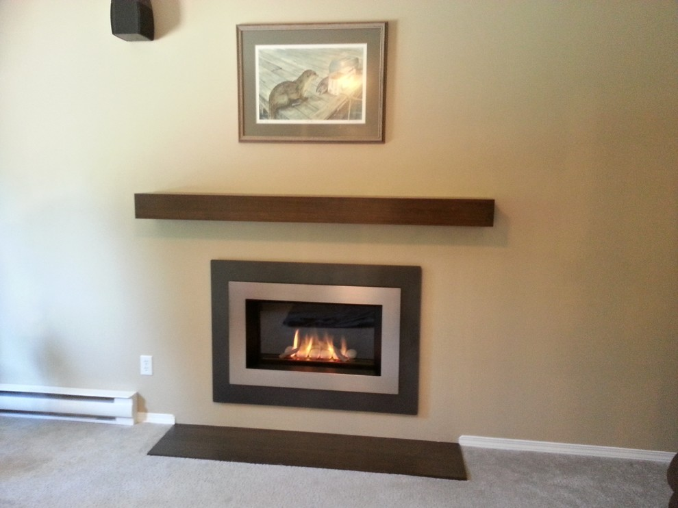 Kingsman Fireplace for Contemporary Living Room with Lennox