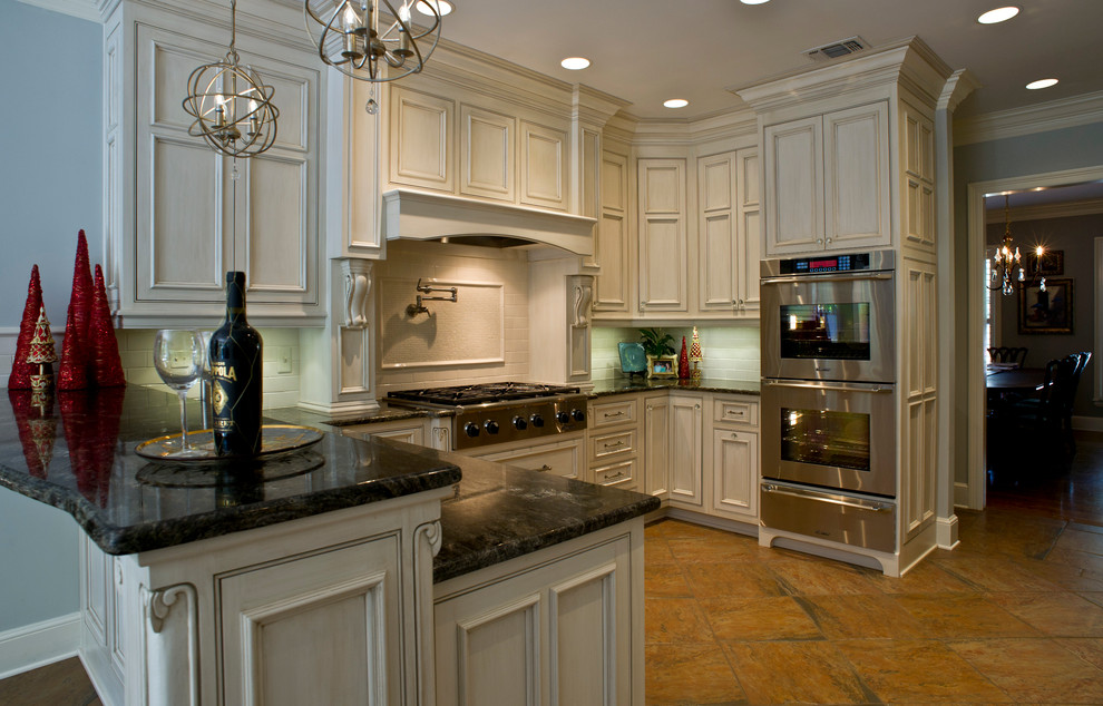Kiva Kitchen and Bath for Traditional Kitchen with Stainless Appliances