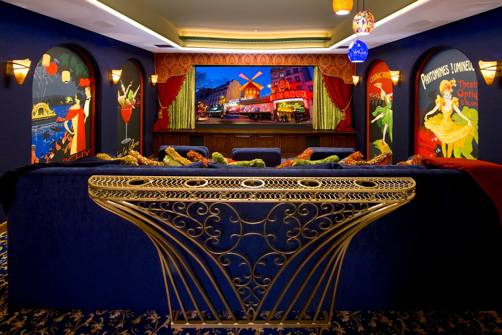 La Habra Theater for Traditional Home Theater with Inc
