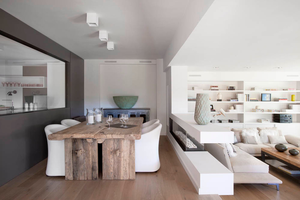 La Mesa Lumber for Contemporary Dining Room with Interiorismo