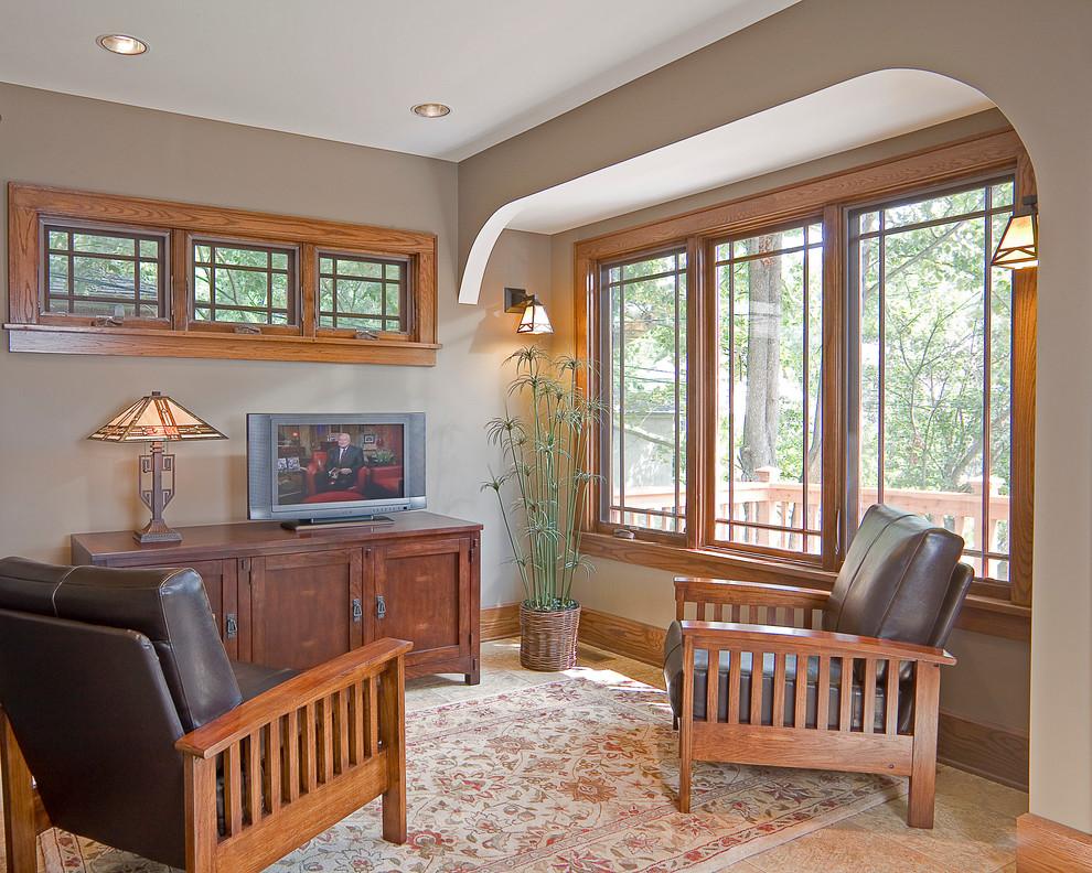 Landis Construction for Craftsman Living Room with Craftsman