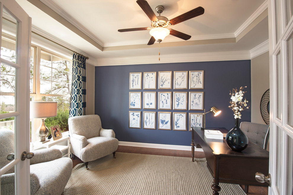 Lennar Atlanta for Traditional Living Room with French Glass Doors