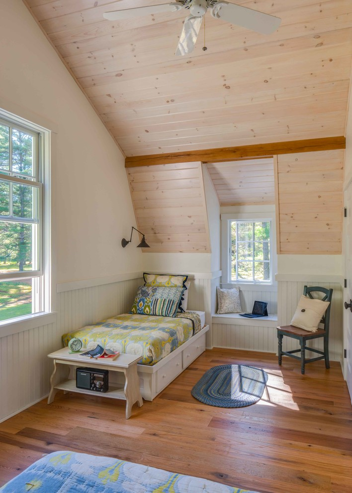 Longleaf Lumber for Traditional Bedroom with Reclaimed Wood