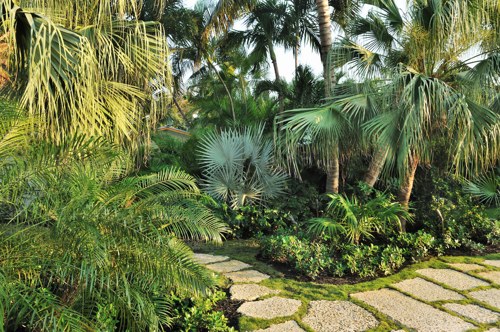Lowes Palm Desert for Tropical Landscape with Stone Pavers
