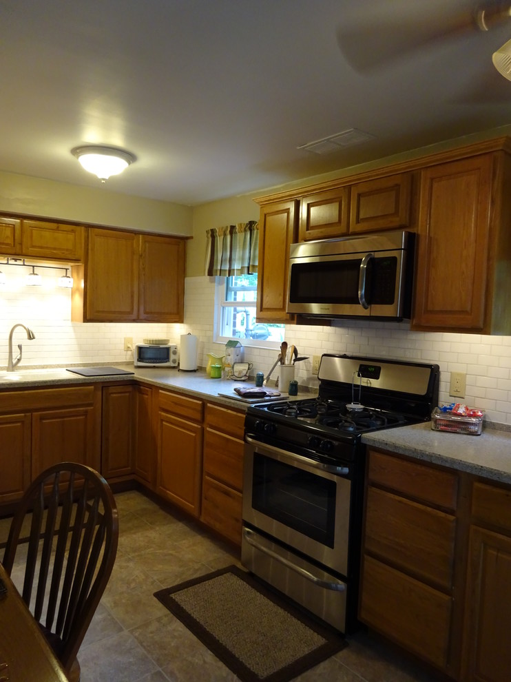 Lowes Peoria Il for Traditional Kitchen with Portland Oak