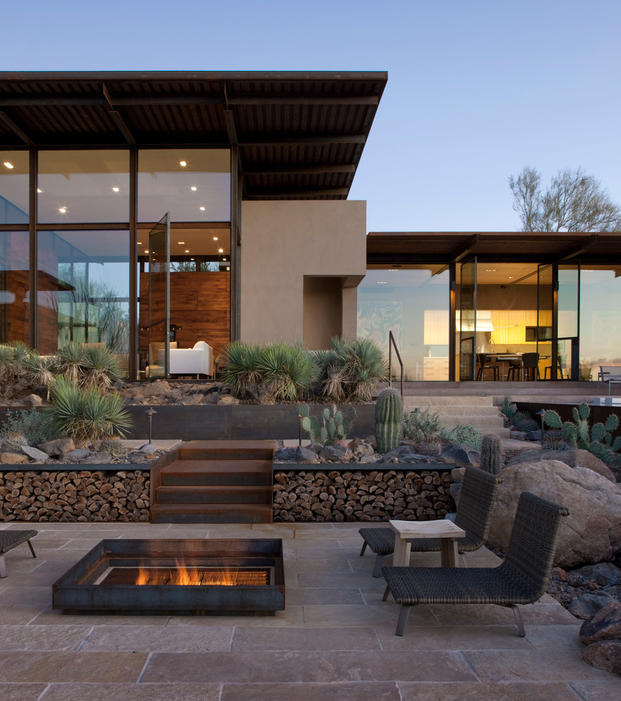 Lowes Scottsdale for Southwestern Patio with Glass House