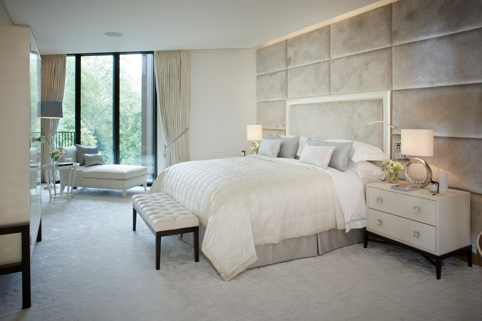 Luxart for Contemporary Bedroom with Fresh