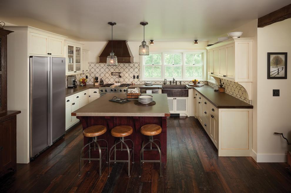 Maple Lawn Farms for Farmhouse Kitchen with Kitchen Backsplash