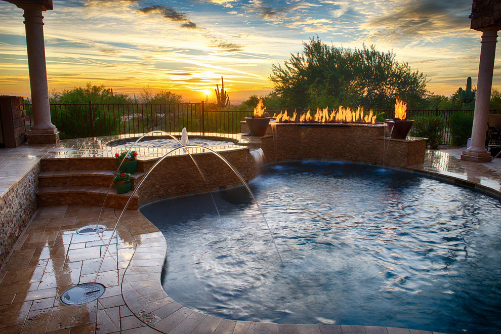 Marsh Creek Pool for Transitional Pool with Pool Designs