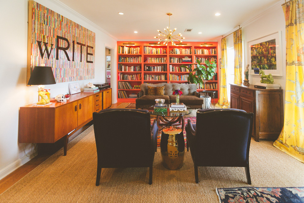 Martin Senour Paints for Eclectic Living Room with My Houzz